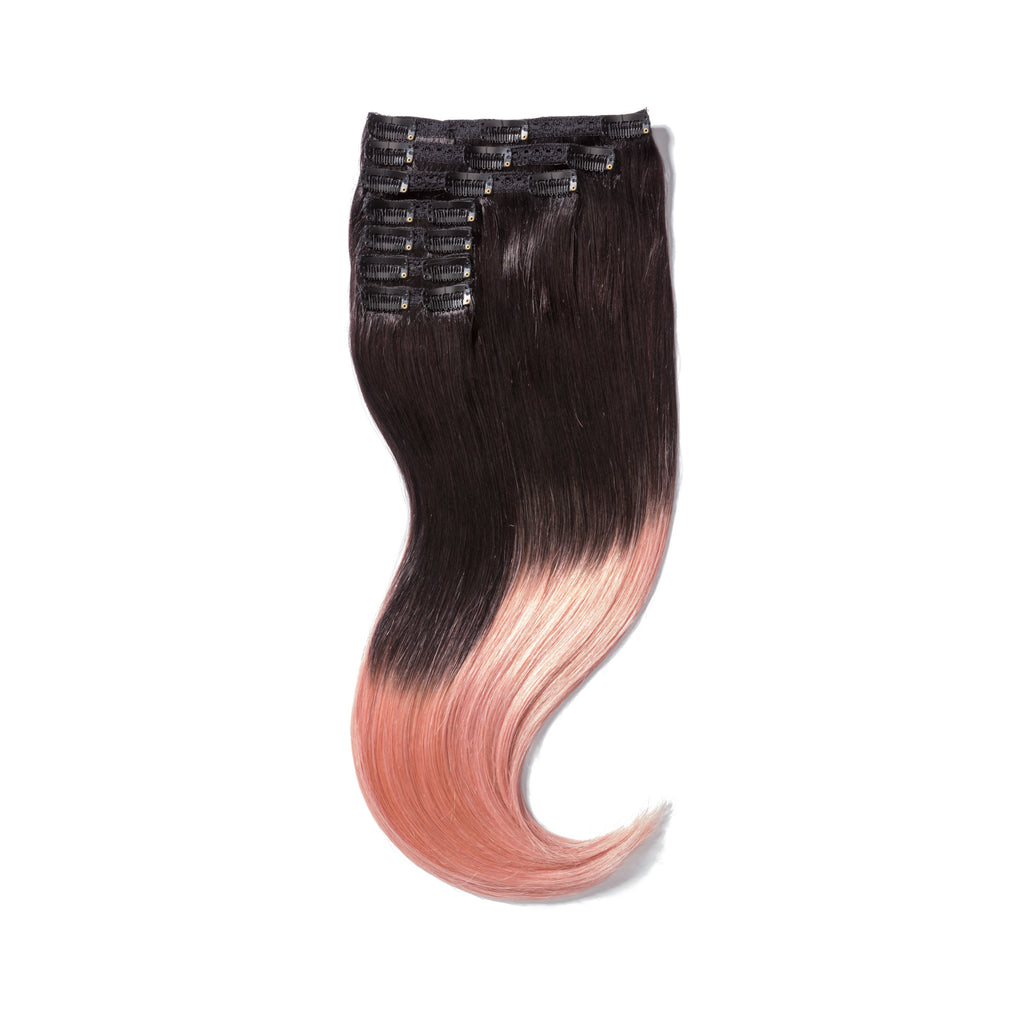 "KUMARI QUEEN 120G 20""Ombre Off Black/Pink (1B/Pink)"