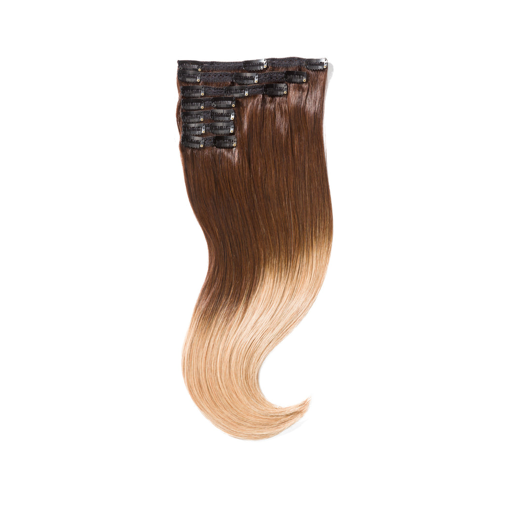 "KUMARI ROYALE 160G 20"" Ombre Chocolate Brown/Caramel Blonde (2/27)"