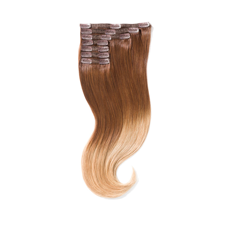"KUMARI GODDESS 200G 20"" Ombre Dark Brown/Light Golden Blonde (4/27)"