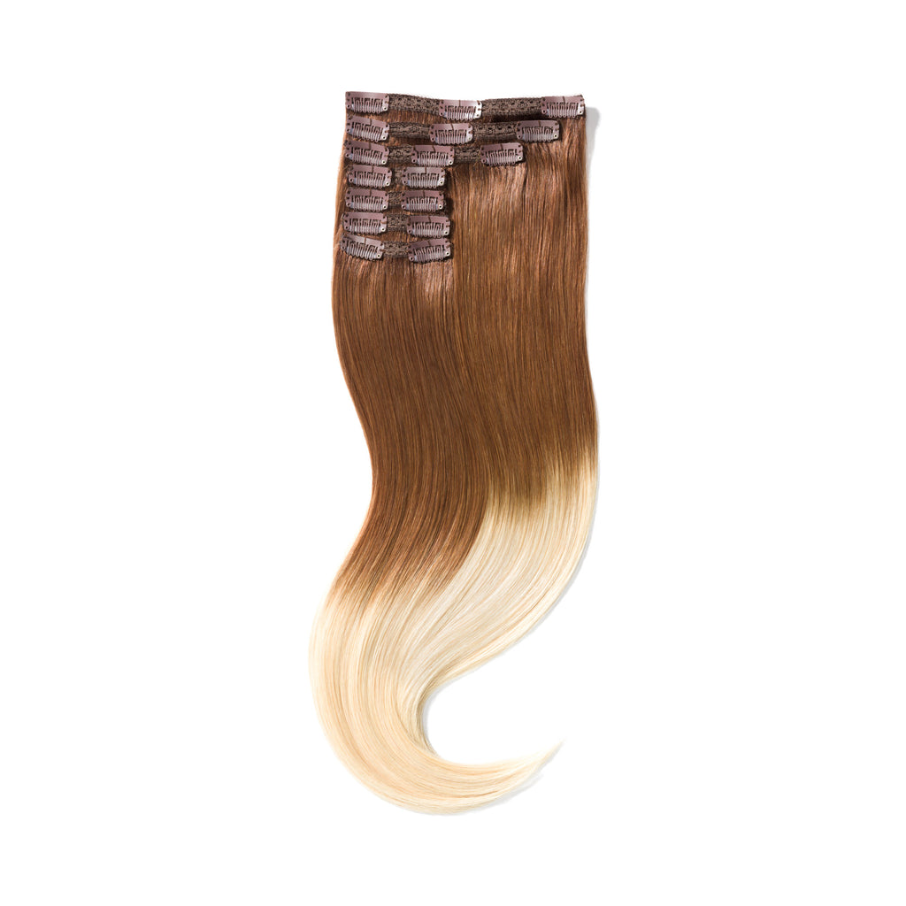 "KUMARI QUEEN 120G 20""Ombre Chocolate Brown/Beach Blonde (4/613)"