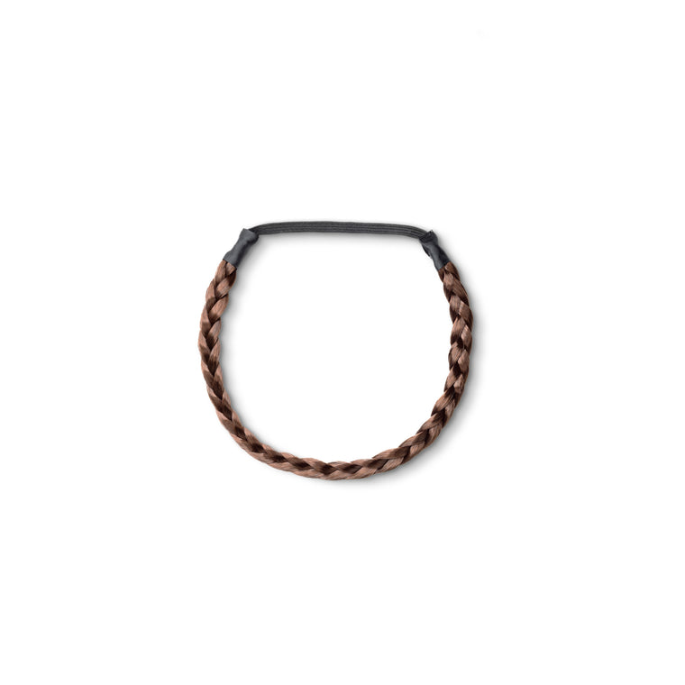 CHIC Braided Hair Band Dark Chocolate (2)