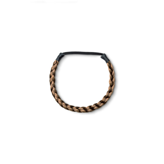 CHIC Braided Hair Band Dirty Brown (8)