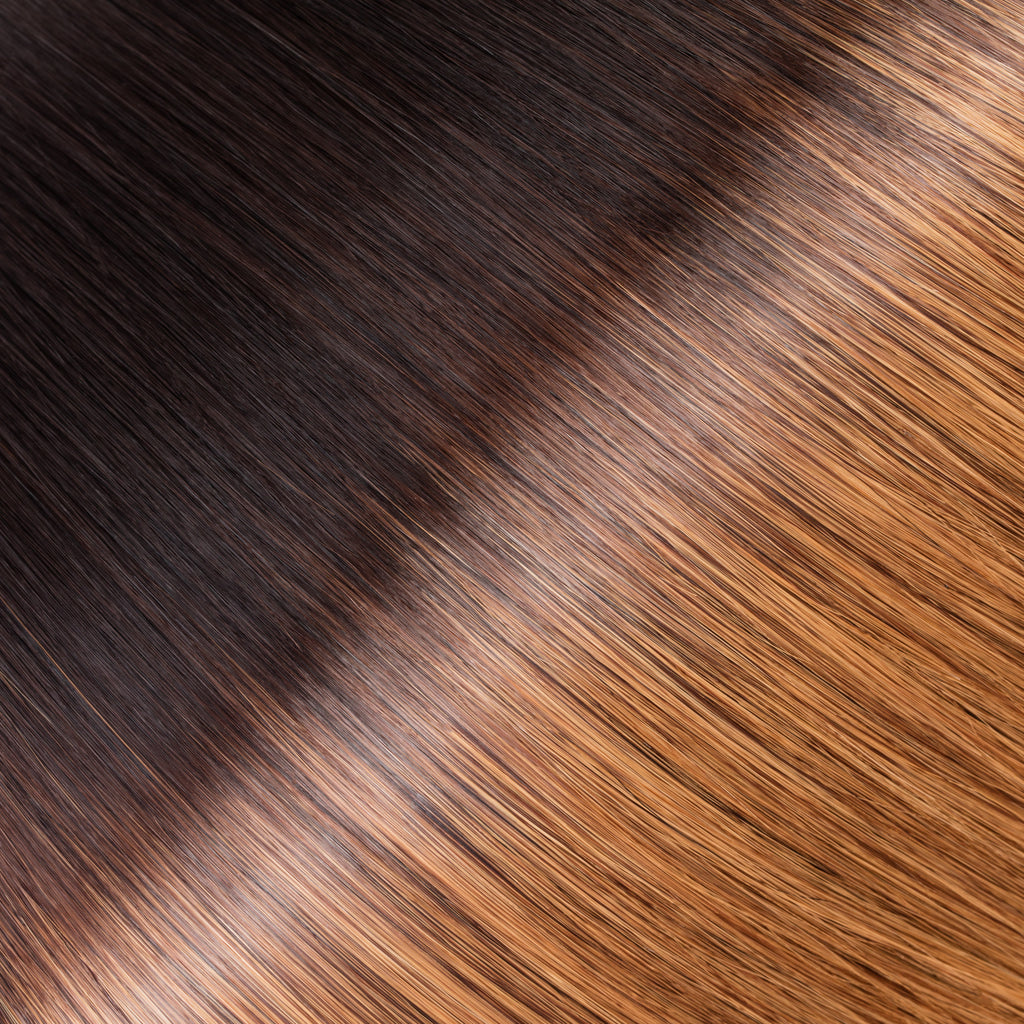 "KUMARI QUEEN 120G 20"" Ombre Off Black/Chestnut Brown (1B/6)"