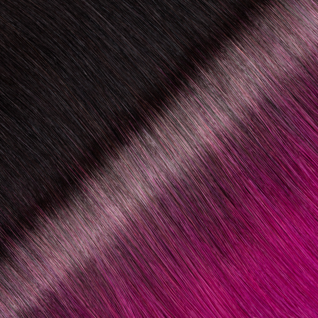 "KUMARI ROYALE 160G 20"" Ombre  Off Black/Purple (1B/Purple)"