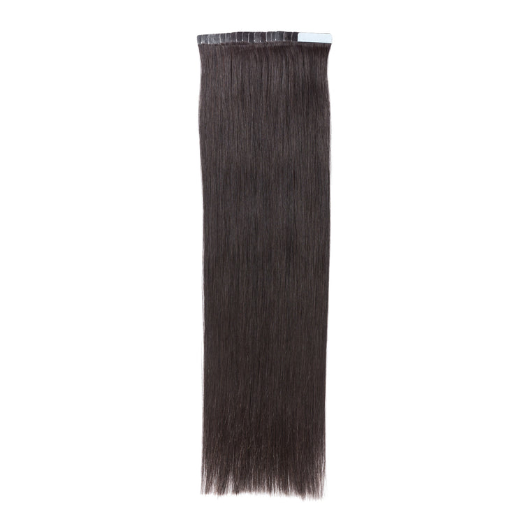 "ELEGANT 50G 20"" Tape-In Extensions Off Black (1B)"