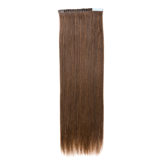 "ELEGANT 50G 20"" Tape-In Extensions Chocolate Brown (4)"
