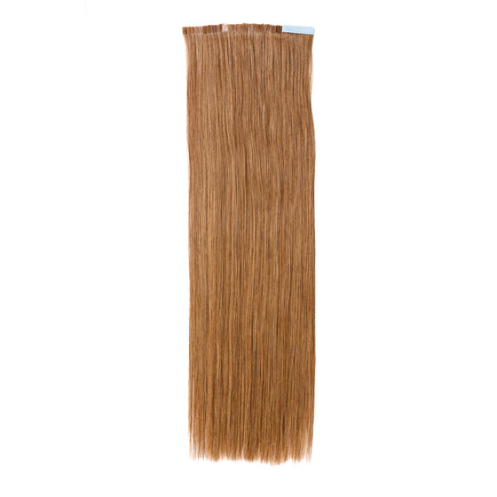 "ELEGANT 50G 20"" Tape-In Extensions Chestnut Brown (6)"