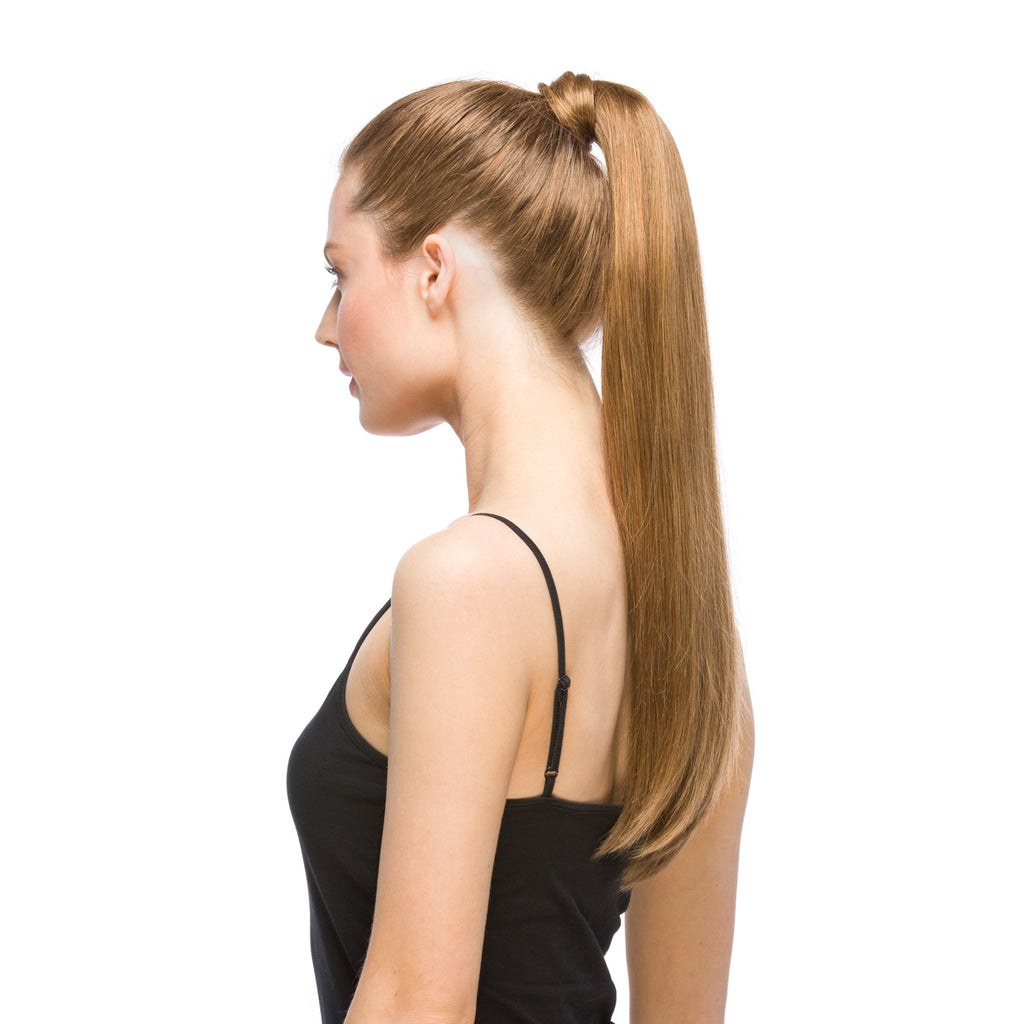 "GORGEOUS Ponytail 120G 20"" Medium Ash Blonde (10)"