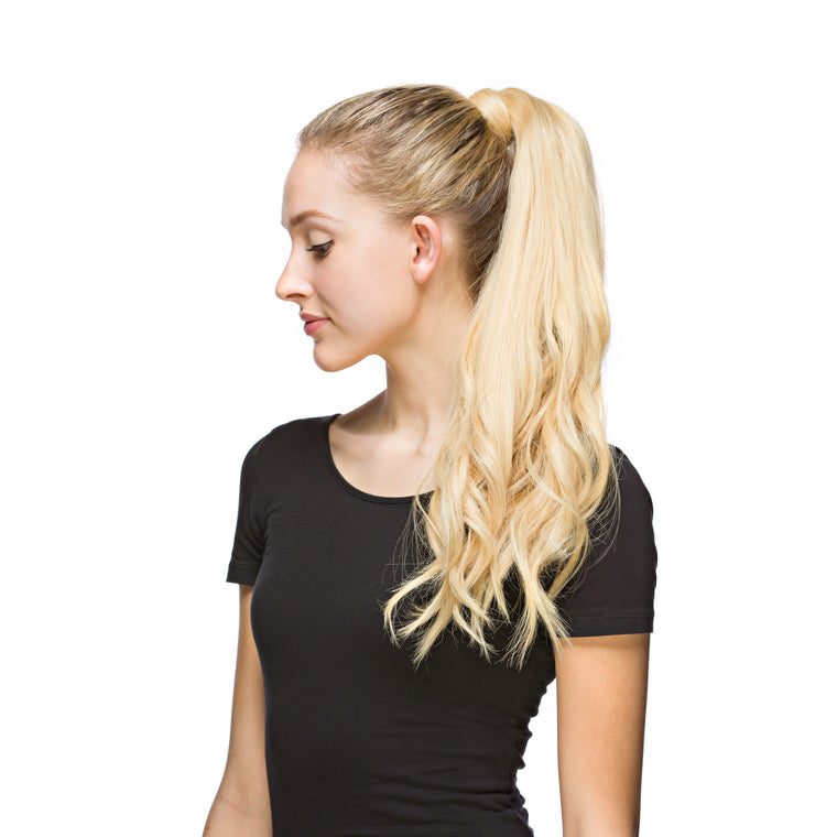 "GORGEOUS Ponytail 120G 20"" Beach Blonde (613)"