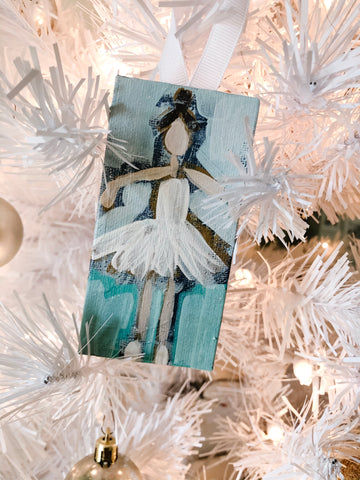 Sugar Plum Fairy Ballerina Ornaments