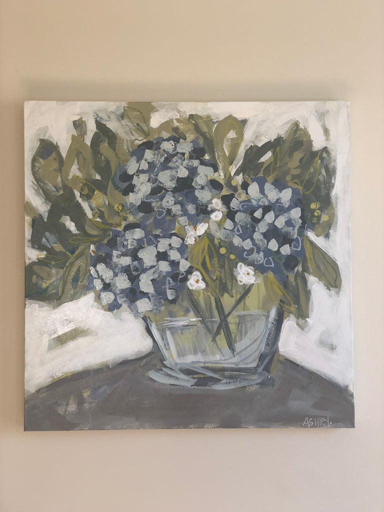 Hydrangea Art Workshop