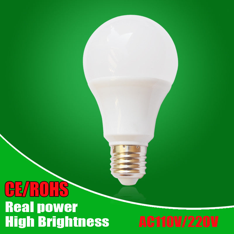 LED Lamp E27 LED Bulb Light B22 3W 5W 7W 9W 12W 15W 110v 220V Real Watt SMD2835 aluminum cooling High Bright Lampada LED lights