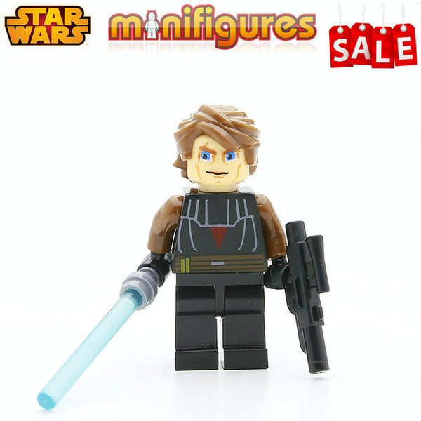 SingleSale STAR WARS Kylo Ren with Cross Lightsaber First Order Jedi The Force Awakens Minifigures Building Blocks Kids Toy Gift