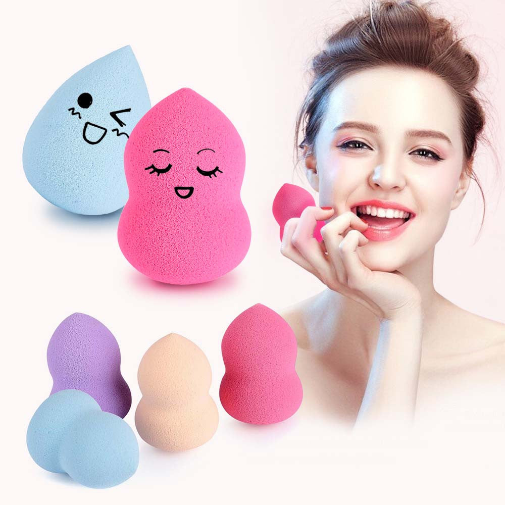1 Pcs Face Make Up Sponge Cosmetic Puff Pro Fundation Miracle Makeup Sponge Blender Flawless Powder Puff Smooth Mini Beauty Egg