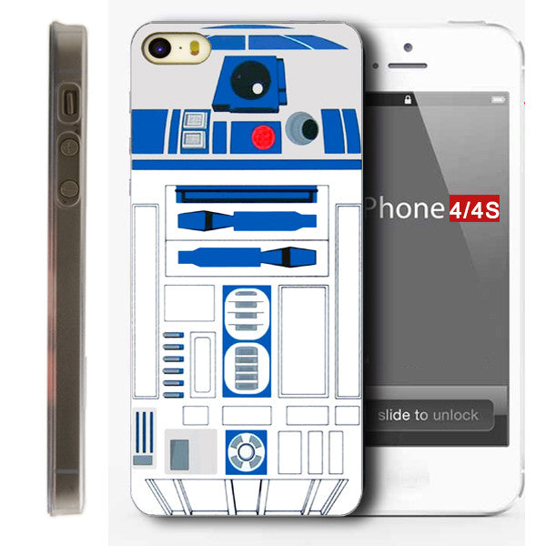 R2D2 STAR WARS COFFEE STORMTROOPER BACK PHONE CASE COVER FOR APPLE IPHONE 4 4S 5 5S