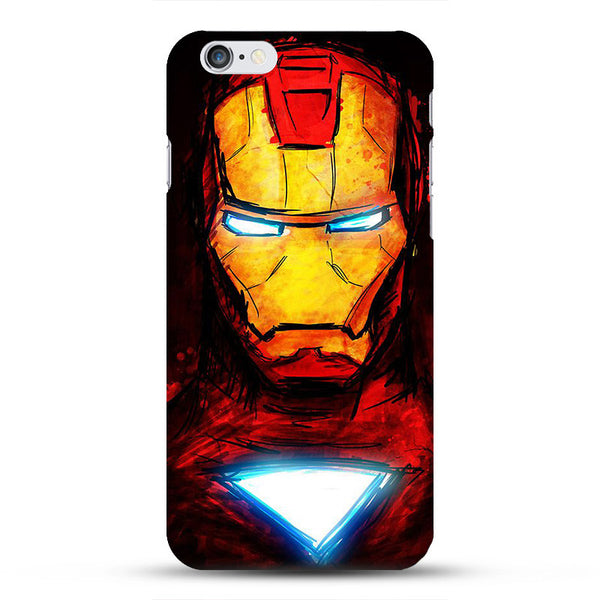 Marvel Avengers Captain America Shield  Iron man Hard Case Cover for fundas iPhone 5 5s Spiderman Deadpool Painted Pattern