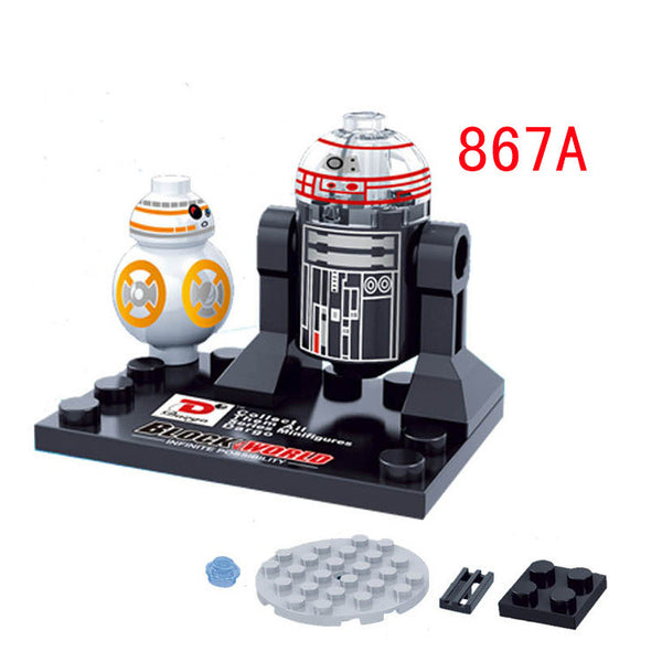 Star Wars 7 The Force Awakens Finn Rey Kylo Ren The Force Awakens Jedi Minifigures Building Blocks Bricks Toys  Compatible