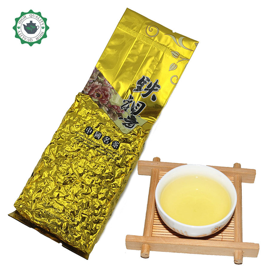 1752 fresh Chinese Oolong tea 100g Fujian Anxi Tieguanyin loose tea Tikuanyin oolong green tea tie guan yin organic slimming tea