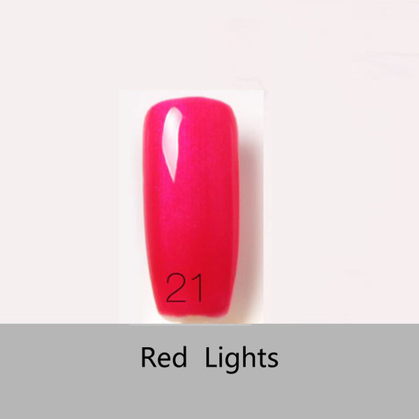 2016 Hot 1Pcs bling Gel Nail Polish Long-Lasting Soak-off Nail Polish Gel Polish 6ml/Pcs 80 Colors Optional uv gel varnish Nail