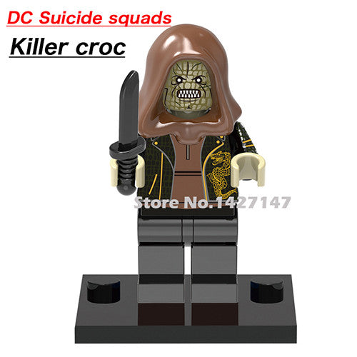 DC Characters & Suicide Squad Legos