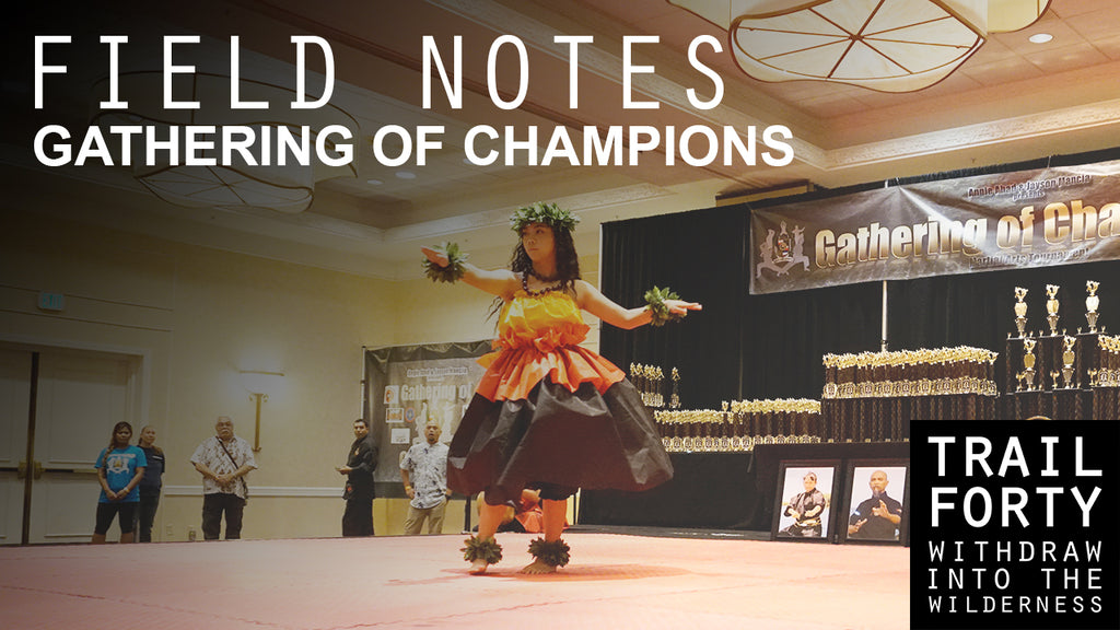 2016 Gathering of Champions Martial Arts Tournament | Field Notes | TRAILFORTY.com