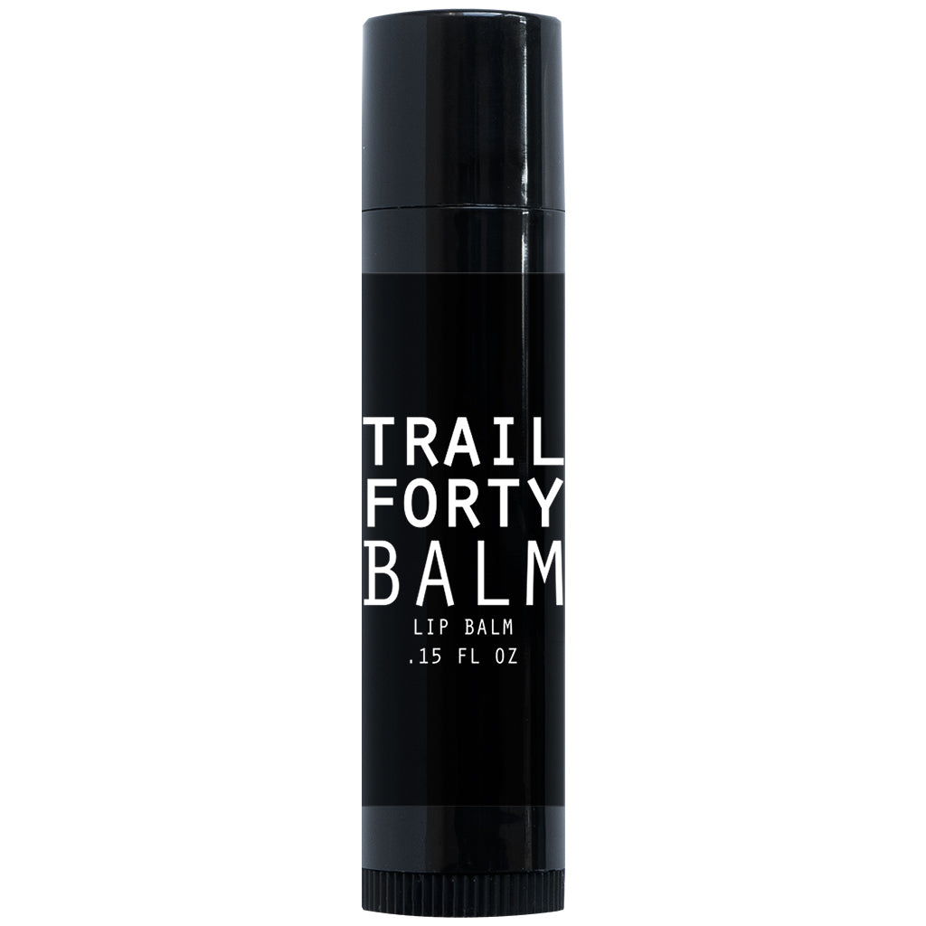 TRAIL FORTY | Lip Balm | Vanilla | .15 oz | TRAIL FORTY | WITHDRAW INTO THE WILDERNESS | TRAILFORTY.com | Luke 5:16