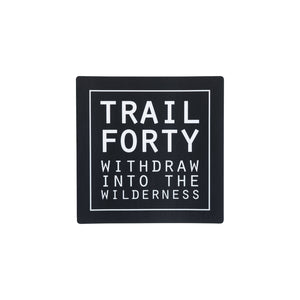 "All-Weather Sticker | 2"" - TRAILFORTY.com"
