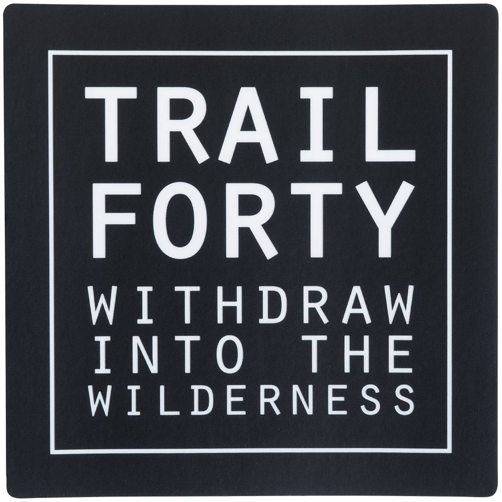TRAIL FORTY | All-Weather Sticker | 4""