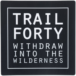TRAIL FORTY | All-Weather Sticker | 4"