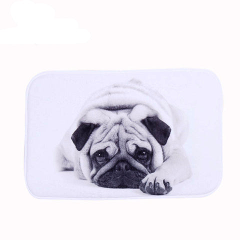 French Bulldog Mats 40x60cm 65% OFF