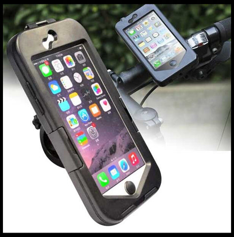 promotion Bike Bicycle Motorcycle Handlebar Bag Pouch Phone Mount Holder For iPhone 6 4.7""