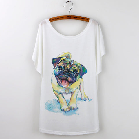 French Bulldog Print Women's T-Shirt