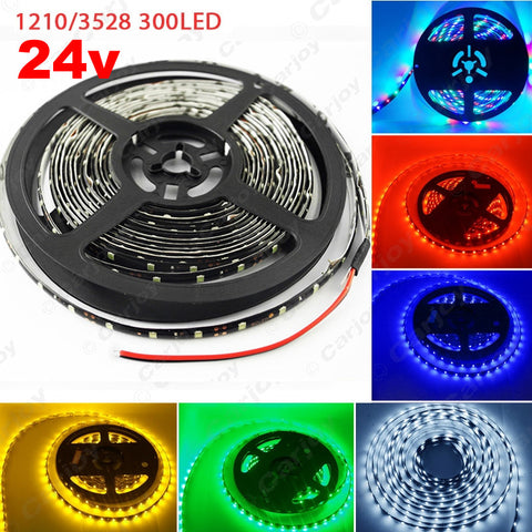 500cm 5M 300 Leds Waterproof Car Truck Decoration LED Strip Light