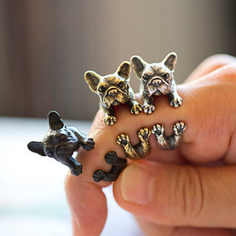 French Bulldog Ring Men And Women