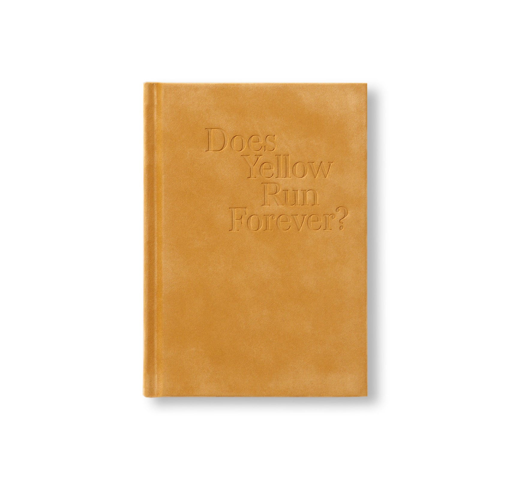DOES YELLOW RUN FOREVER? by Paul Graham [SIGNED]
