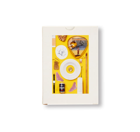 A COLLECTION OF NINE KIPPENBERGER EDITIONS, ONE BOETTI WATCH, A CIGARETTE AND YELLOW by Jonathan Monk
