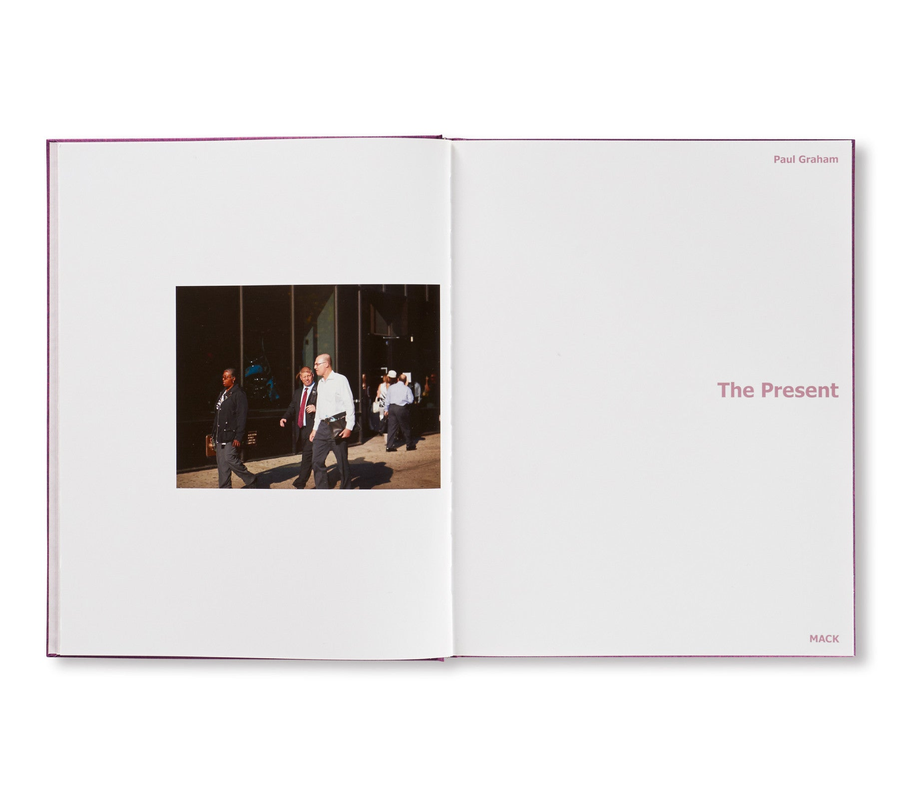 THE PRESENT by Paul Graham [SPECIAL EDITION / SIGNED]