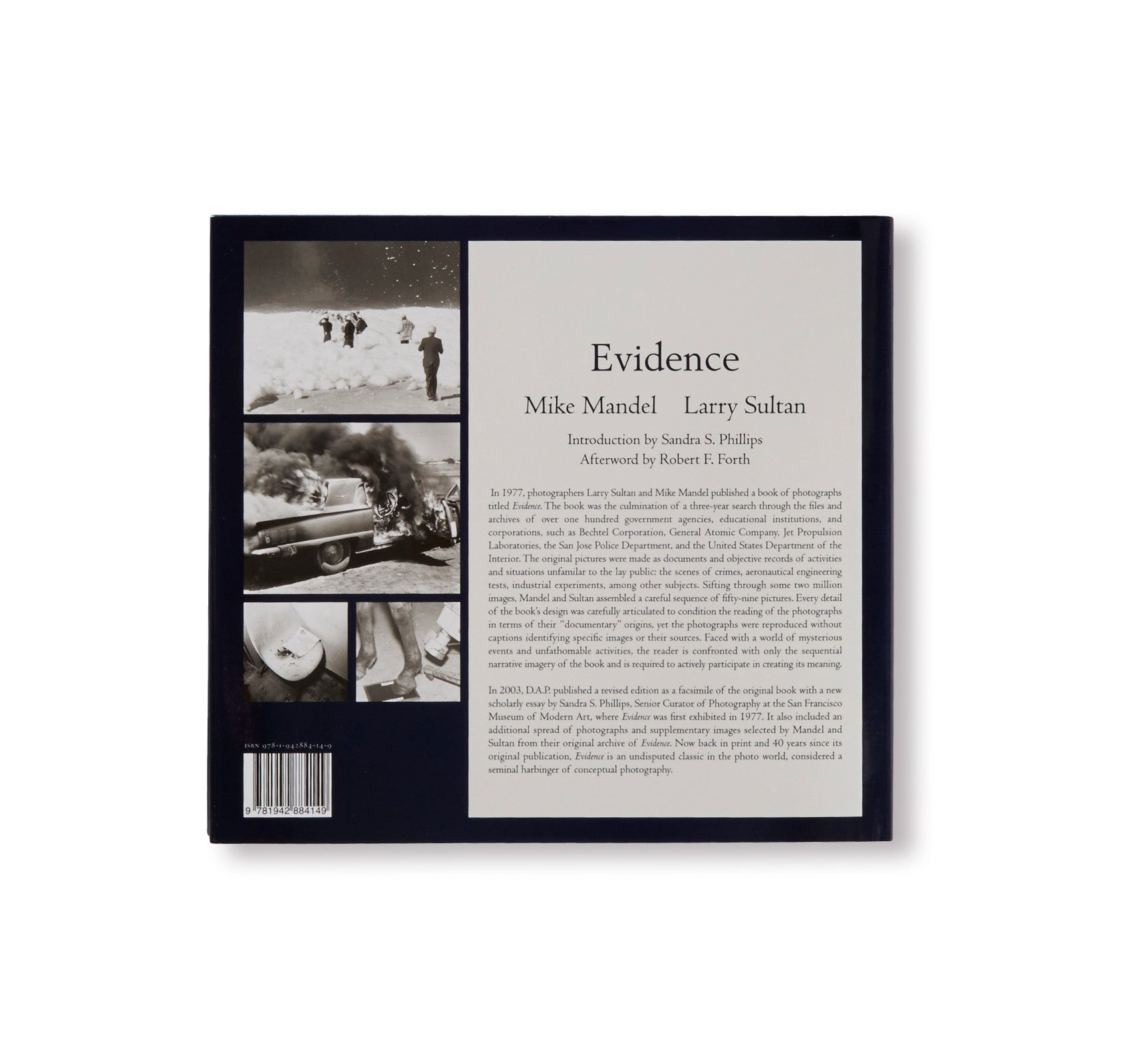 EVIDENCE by Larry Sultan & Mike Mandel [PRE-ORDER]