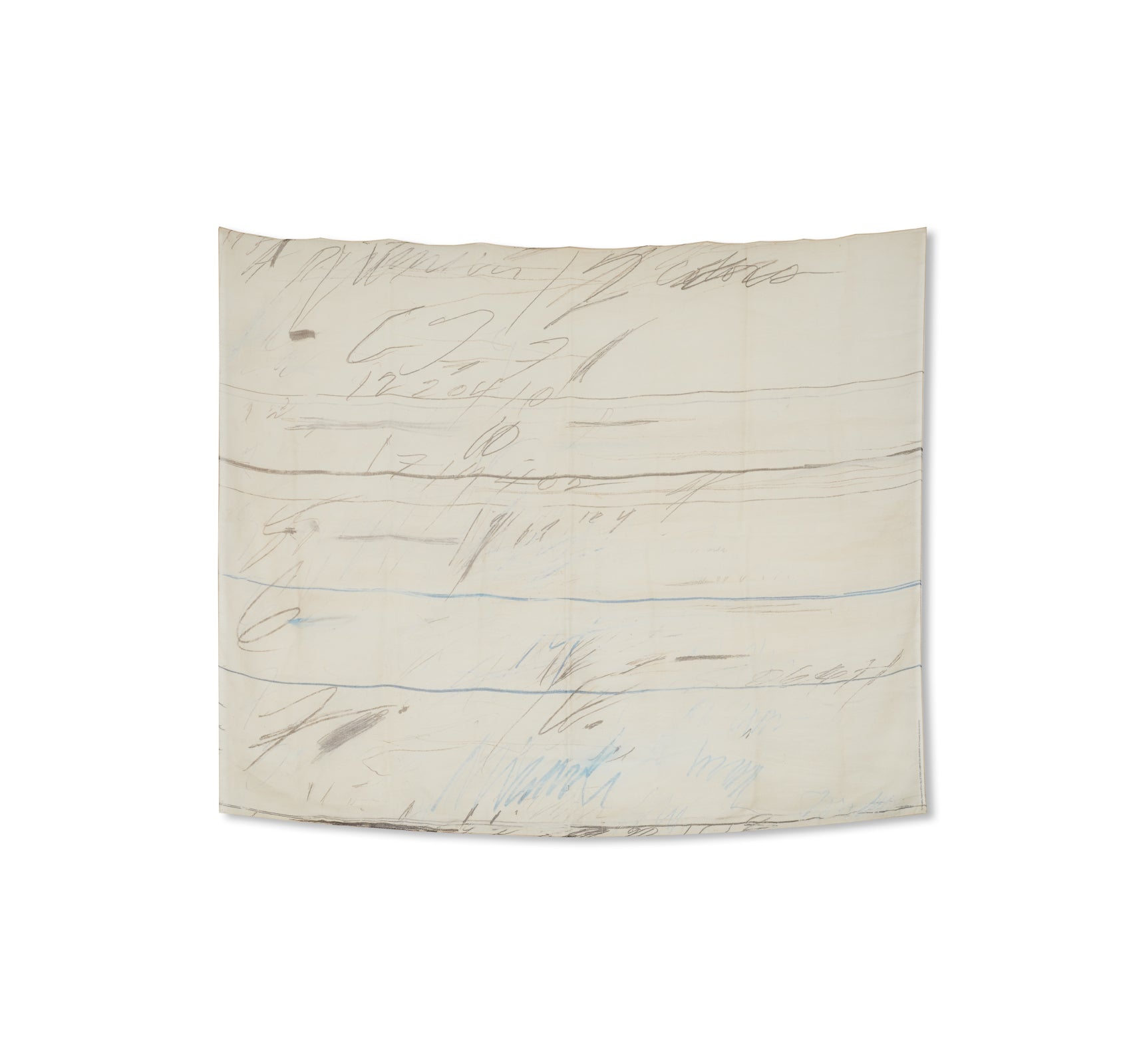 SCARF '1971' by Cy Twombly