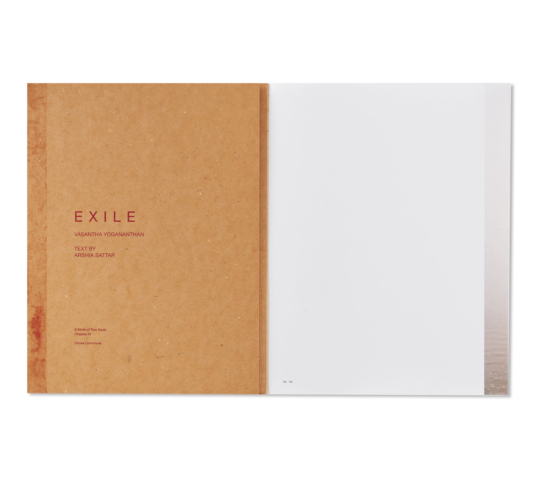 EXILE by Vasantha Yogananthan [SIGNED]