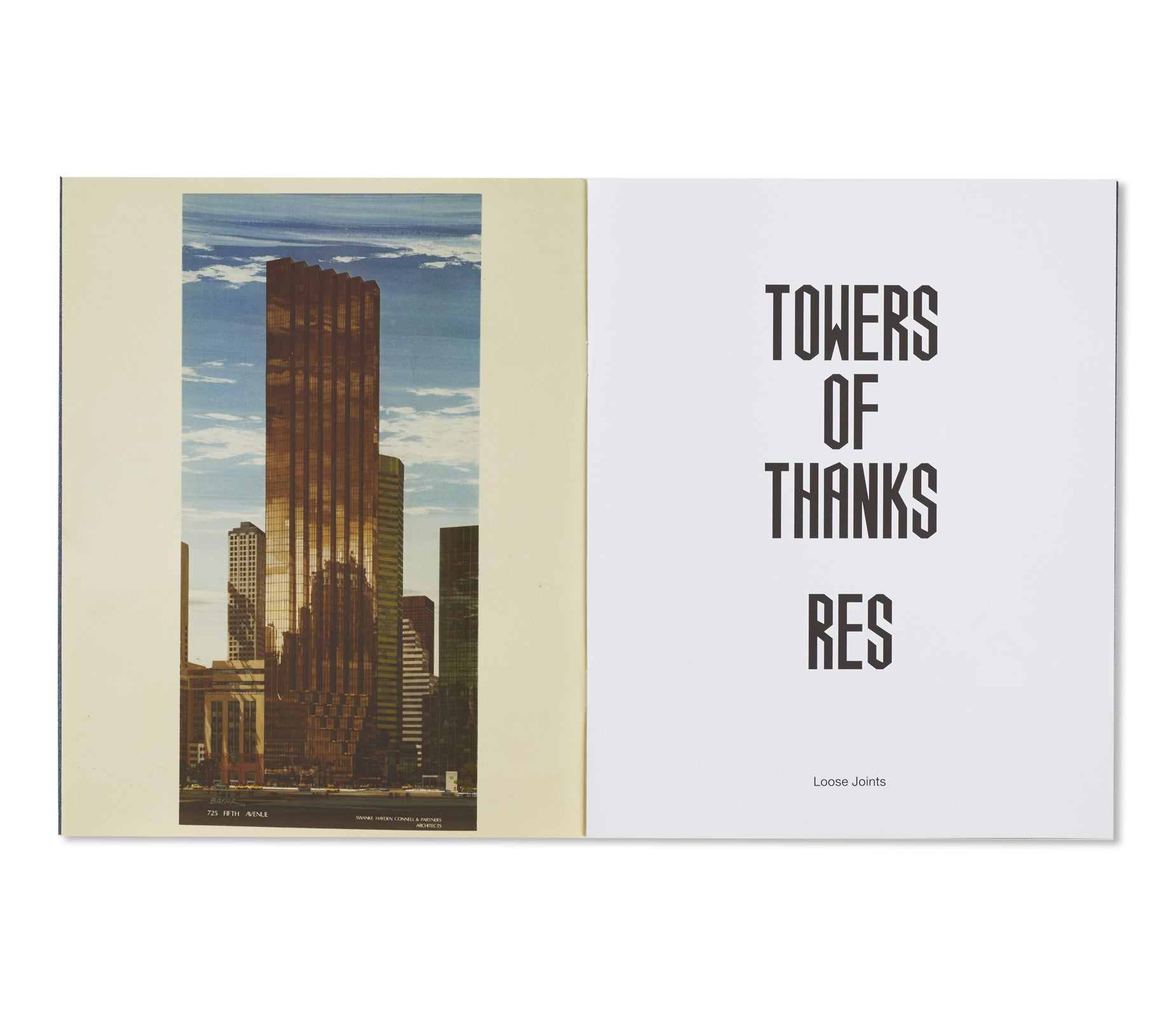 TOWERS OF THANKS by Res