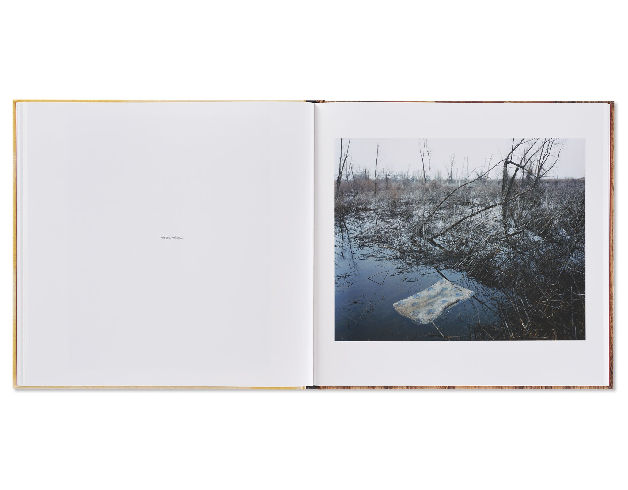 SLEEPING BY THE MISSISSIPPI by Alec Soth