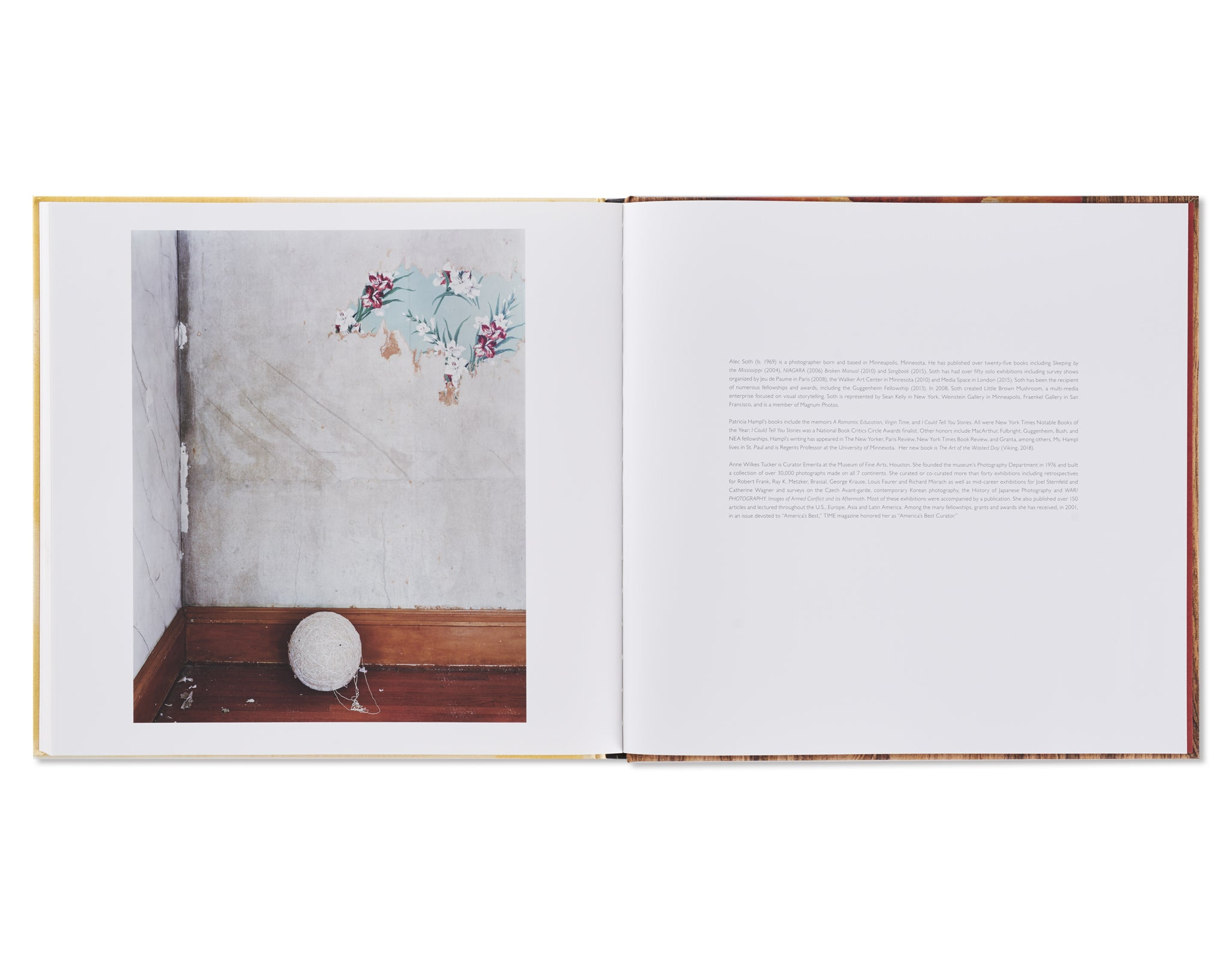 SLEEPING BY THE MISSISSIPPI by Alec Soth [SIGNED]