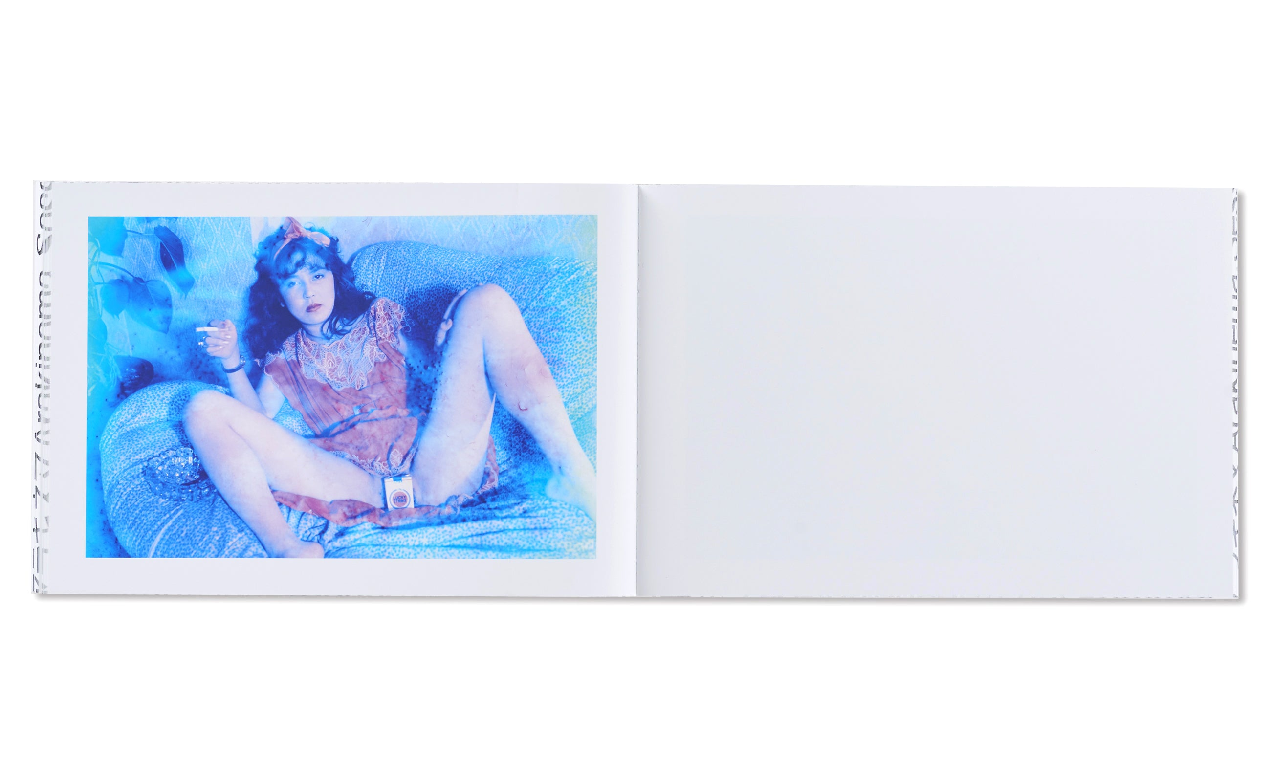 BLUE PERIOD / LAST SUMMER : ARAKINEMA  青ノ時代/去年ノ夏:アラキネマ by Nobuyoshi Araki [JAPAN EDITION]