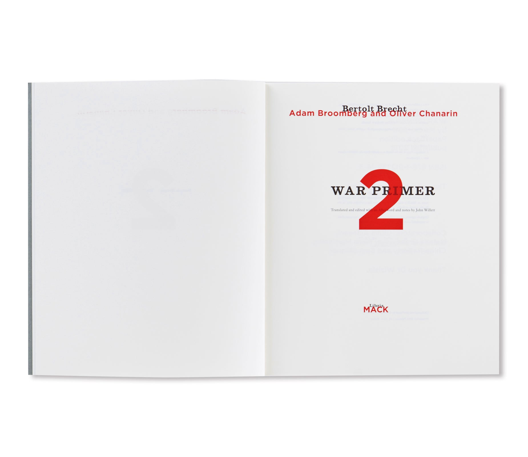 WAR PRIMER 2 by Adam Broomberg & Oliver Chanarin [SIGNED]
