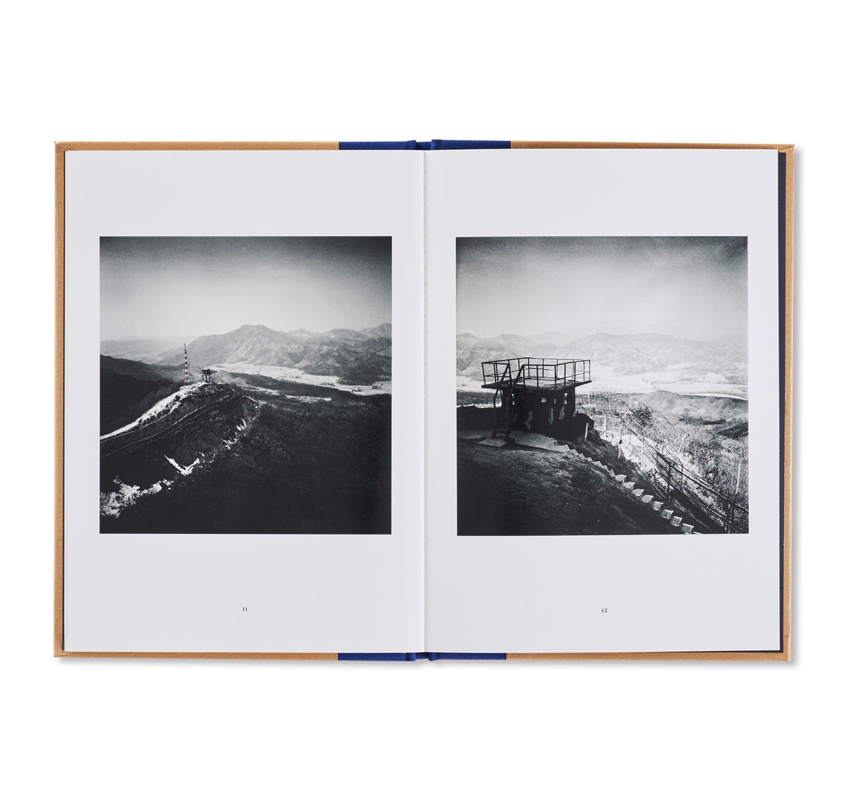 ONE PICTURE BOOK TWO #1: DMZ - THE 38TH PARALLEL by Michael Kenna