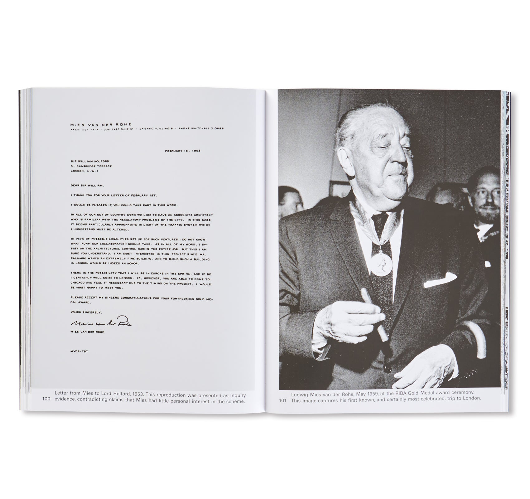 MIES IN LONDON by Mies van der Rohe [SOFTCOVER]