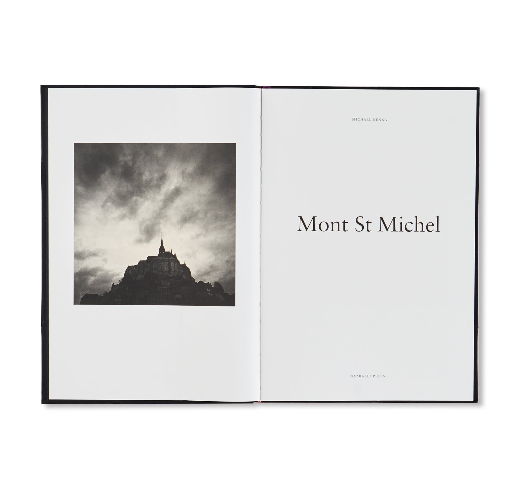 MONT ST MICHEL by Michael Kenna