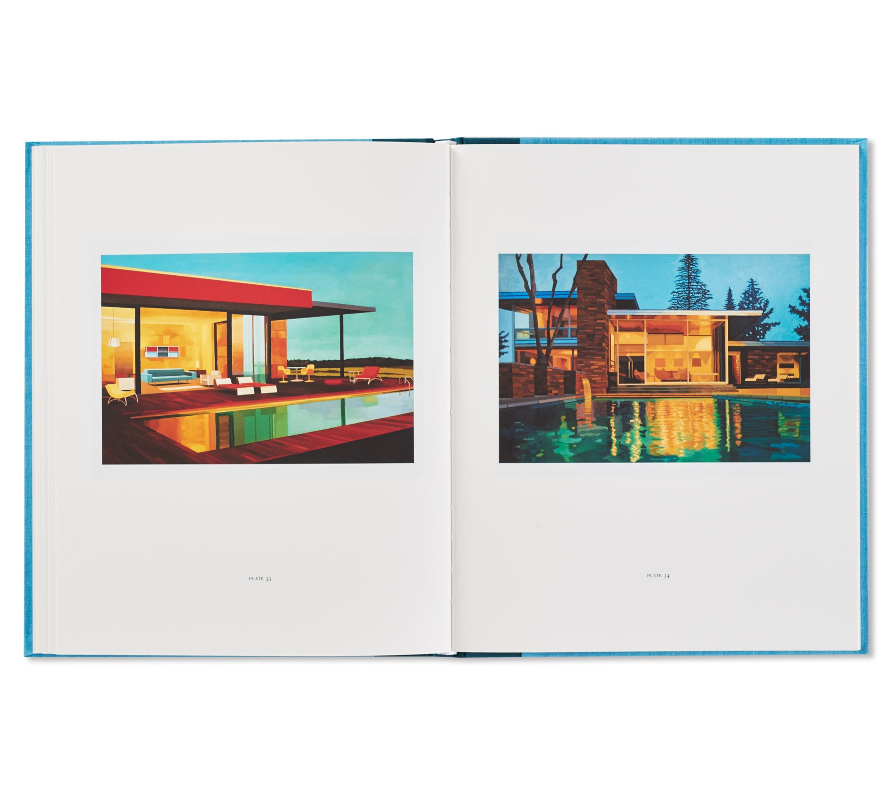 MODERNIST HOUSE PAINTINGS by Andy Burgess