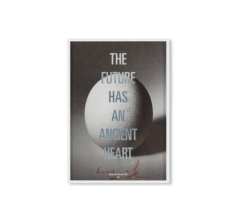 THE FUTURE HAS AN ANCIENT HEART - LIMITED POSTER by Adam Broomberg & Oliver Chanarin [EXCLUSIVE]